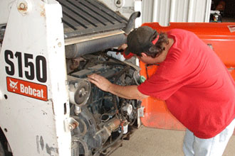Equipment repair services at EquipServ serving Mableton GA